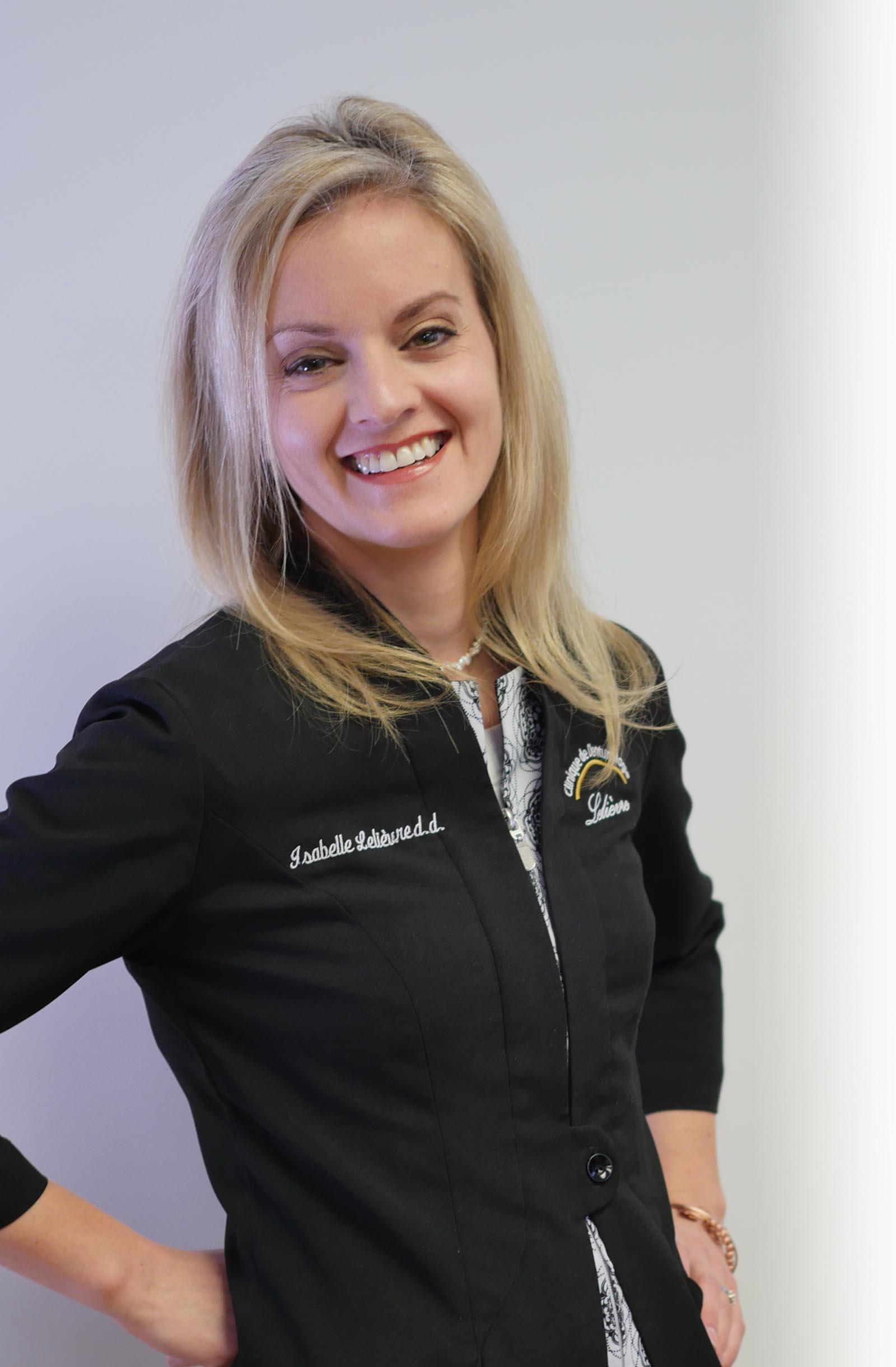 Isabelle Lelièvre | Spécialiste en prothèse dentaire